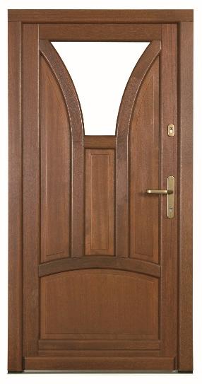 Eingangstüren HOLZ Wezuvio