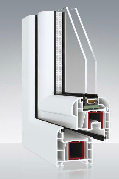 Prestige Fenster PVC - Avantgarde 9000