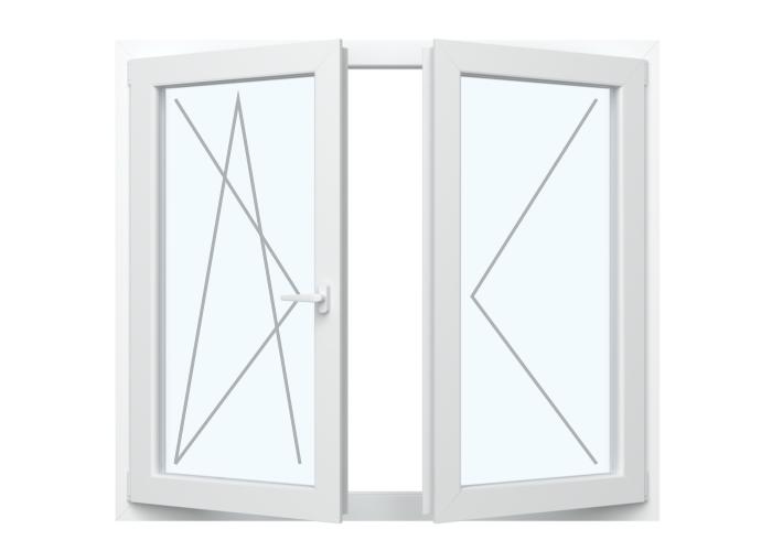 Fenster Dreh Kipp + Dreh ( Stulp)