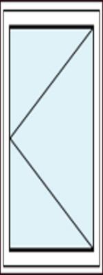 Balkontür mit Dreh-Funktion Recht