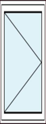 Balkontür mit Dreh-Funktion Links