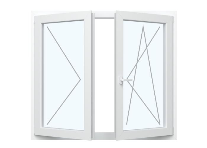 Fenster Dreh + Dreh Kipp (Stulp)